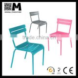 stackable aluminumn outdoor fermob luxembourg metal chair