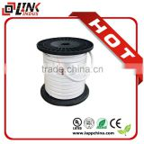 Home decoration high quality soft electrical cable, white color electric wire, BC copper wire