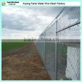 china supplier - plastic chain link fence/8x8 fence panels/chain link perimeter fence designs