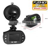 Full HD 1080P Car Camera Dvr C600 1.5 inch 140 Degrees Wide Angle Lens Dash Cam