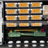 AMI AMR and DIN Rail Split prepaid Energy Meter Box with CIU