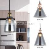 China Factory Decoration Home Indoor Vintage Ceiling Modern Glass Pendant Light