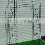 chinese garden arch wrought iron gate