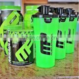 2015 New onsumer Twin pack Protein joyShaker bottle with twin neck BPA free shaker bottle