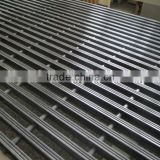 Corrosion resistant and flame-resistant fiberglass/GFRP pultruded floor grating, platform walkway