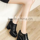 high heel ankle boots motorcycle china wholesale women boots