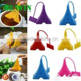 colorful eiffel tower tea strainer silicone eiffel tower infuser teabag