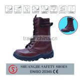 buffalo leather safety boots/high cut safety shoes