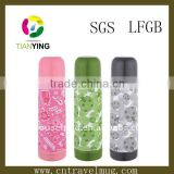 colourful stainless steel thermos vaccum food flask