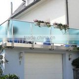 stainless steel 304 balcony guardrails with mirror polish