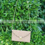 Wholesale Domil Blanks Cork PU Faux Leather Purse Cross Body Bags Casual Clutch Women Purse Handbags