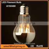China Factory offer 360 degree led globe bulb vintage Edison led filament bulb shadowless