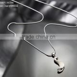 2016 high quality hot sale face book 925 sterling silver necklace Chinese supplier 925 silver necklace