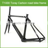 2016 Top grade t800 full carbon road bike frame / full carbon road bike frame with OEM logo