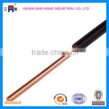 600 V American standard AWG 8, THW cable : Copper Conductor PVC insulated Electric awg wire / awg cable