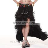 Sexy belly dance skirts milk silk South Korean yarn lady wholesale dancing skirts for girls