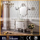 Luxury Solid Wood European Classic Style Eldorado Bathroom Mirrors Cabinet with Factory Price S-6829