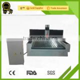 CE QL-1325 jinan aluminum table 5.5 kw water cooling spindle stone engraving 3d cnc router/gem cutting and polishing machine