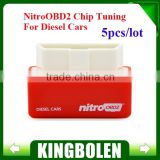2015 High Quality Plug and Drive NitroOBD2 Performance Chip Tuning Box for Diesel Cars NitroOBD2 Chip Tuning Box