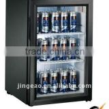 JGA-SC68 68L refrigerator display price for sale cabinet under counter small beverage mini soft drink display refrigerator