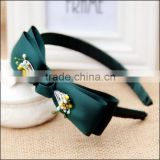 Latest Fancy Ribbon Bow Headbands For teen girls,High Quality Hair Ornament