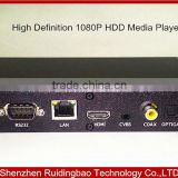 RDB 2014 New Commercial Grade 1080P HD media player with SD USB Player Audio Player support APE/FLAC with 24bit 192K