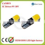 New arrival T10 168 194 LED t10 canbus led light w5w 2W Super High Power Bulbs License Plate Light