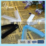High quality plastic comb beautiful star hair straightener comb
