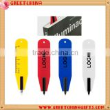 Logo Customized Promotional Bookmark Ball Pen