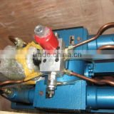Electric pressure testing pump