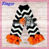 Best selling child tube sock new style wholesale leg warmers boutique knitted baby chritmas leg warmers