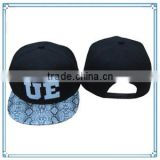 2014 hot sale custom design snapback hat snake skin baseball Cap(SHXE-002)