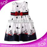 Black and white cute girl party wear western dress
