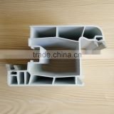 Z shape with rubber sash pvc profile, plastic upvc window profile, pvc upvc extrusion profiles for window