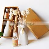 Retro sepaktakraw design ceramic bottle fragrance diffuser