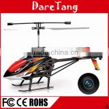 Big Hot Sale 2.4G 3.5 Channel Metal rc helicopter with wireless camera Hd Gyro Led Screen                                                                         Quality Choice