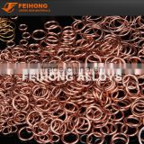 copper-phosphorus copper brazing rings LCuP-8 BCuP-2 BCuP-5