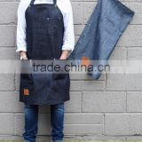 Custom high quality work apron denim