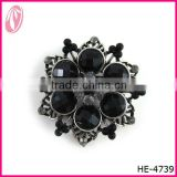 Fashion color rhinestone brooch & Big Crystal brooch pin