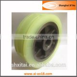 Polyurethane Customized Wheel High Load Carrying Capacity Urethane Coated Gearing Wheels 3 ton heavy duty pu caster wheel