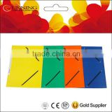 School and office supplies paper file folder Filing Products 300gsm 350gsm paper cardboard elastic string file folder