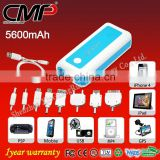CMP 5600mAh External Battery Power Bank for iPhone HTC HD2 Evo 4G Sensation