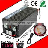 2000W 24VDC-220VAC pure sine wave inverter UPS power supply inverter AC charge home inverter
