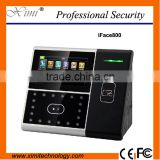 Optical scanner RS232/485 communication 400 facial user 4.3'' TFT touch screen face card time attendance door access control