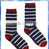 2014 hot sale lady stripe bamboo sock
