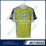 europe jersey sublimated flag football jersey