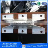 Hot-dip Galvanized Anchor Bracket For Cable Pole / Wall Anchor hook