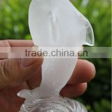 Natural Clear Quartz Crystal Dolphin Carving for Decoration/ Crystal Animal Figurine