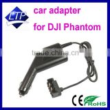 Factory Direct selling Car Charger 17.5V 4A 70W for DJI Phantom black color car adapter