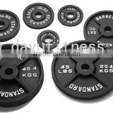 Black Painted Olympic weight Plate DY-WP-019